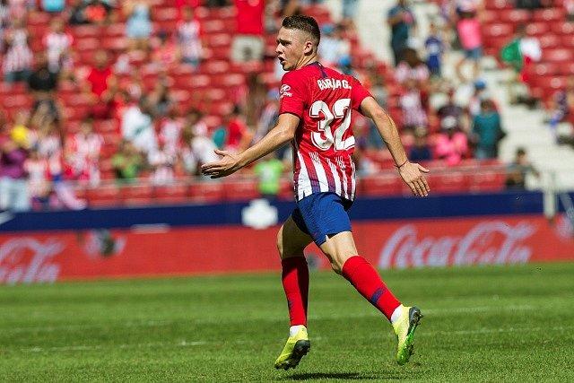 Borja Garcés z Atlétika Madrid.