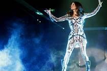 Americká zpěvačka Fergie.
