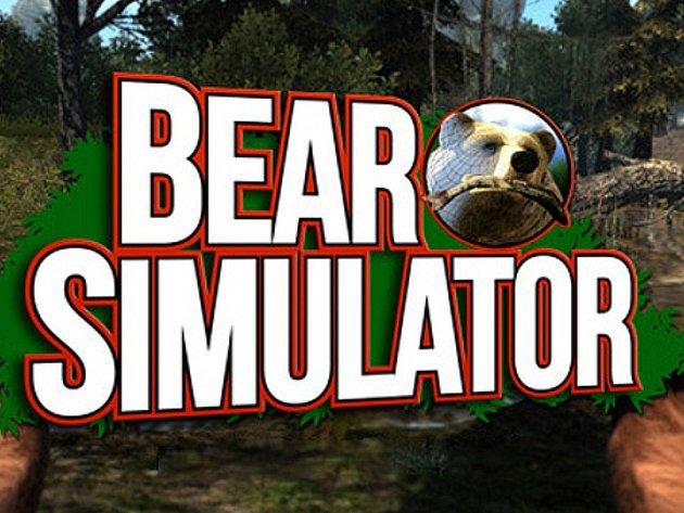 Počítačová hra Bear Simulator.
