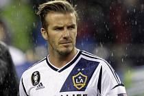 David Beckham v dresu Los Angeles Galaxy.