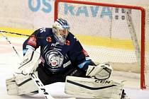 Liberecký gólman Roman Will se dostal do parádní formy.