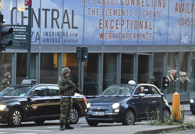 Brusel, incident
