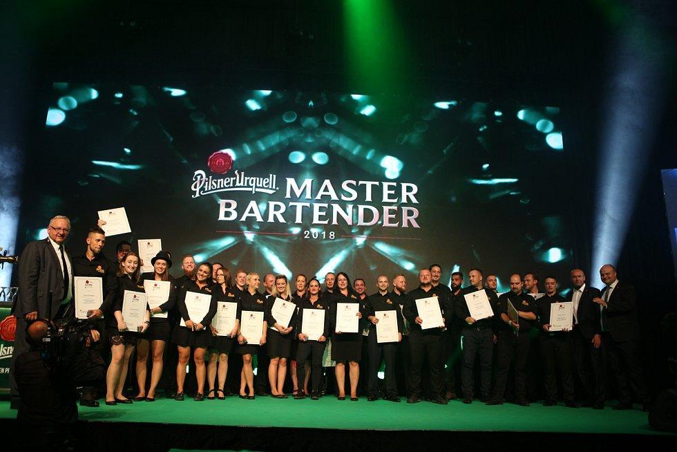 Finalisté soutěže Pilsner Urquell Master Bartender 2018