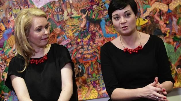 Výkonná ředitelka organizace Freya Lucie Šídová (vlevo) a ředitelka vzdělávání organizace Freya Petra Hamerníková.