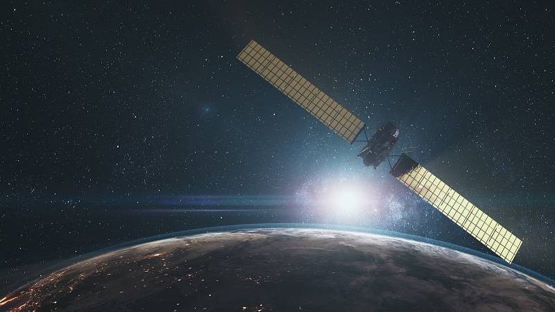 Vesmírná sonda Rosseta na Zemí.