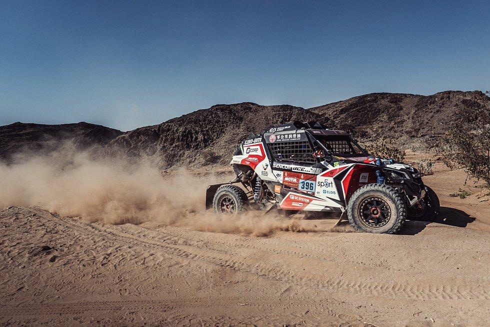 Tomáš Enge na Rallye Dakar