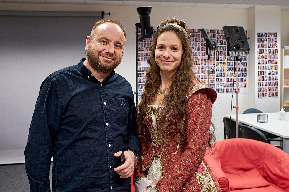 Ivo Macharáček a Veronika Khek Kubařová