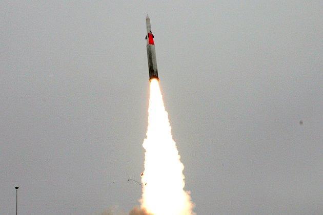 Na ilustračním snímku je jedna z amerických protiraket určených k likvidaci balistických střel.