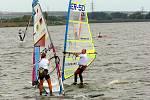 Windsurfing na nádrži Nové Mlýny