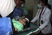 Zranění z letounu indonéských nízkonákladových aerolinek Lion Air.