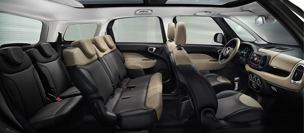 Fiat 500L Living.