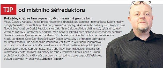 Česká Kanada, tip šéfredaktora