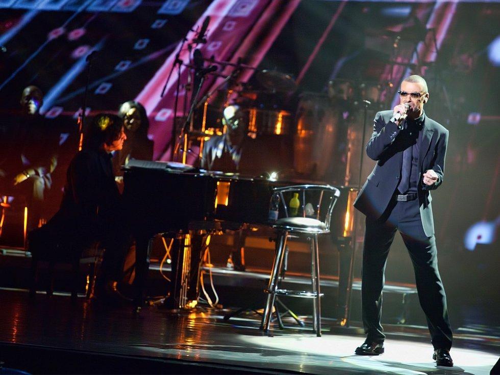 George Michael ve Státní opeře Praha.