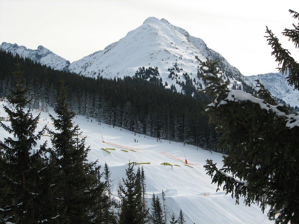 Rakouské alpské středisko Schladming