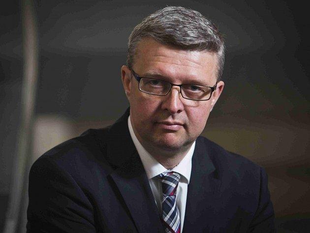 Karel Havlíček, předseda Asociace malých a středních podniků a živnostníků ČR