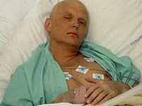 Alexandr Litviněnko krátce před smrtí