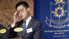 Zakladatel Hongkongské národní strany Andy Chan