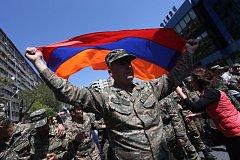 Protesty v Arménii