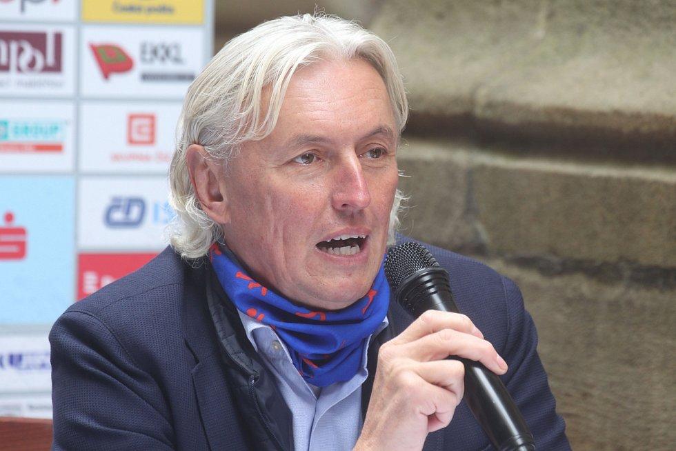 Šéf atletického svazu Libor Varhaník