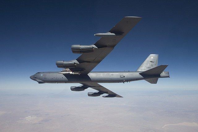 Americký bombardér.