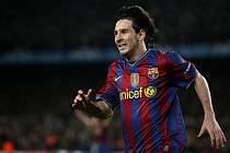 Lionel Messi se proti Arsenalu blýskl čtyřmi góly.