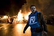 Ve Francii protestují zaměstnanci věznic. Jejich stávku vyvolal útok teroristy na jejich kolegu.