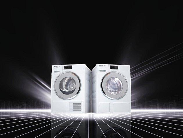 Moderní pračky a sušičky šetří váš čas i peněženku - a ještě umí komunikovat