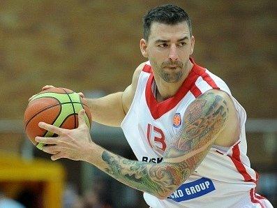 Opora nymburských basketbalistů Radoslav Rančík.