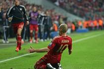 Robben patřil v duelu proti Barceloně k nejlepším hráčům Bayernu.