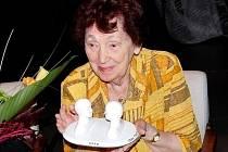 Ve věku 85 let zemřela brněnská herečka Jiřina Prokšová (na archivním snímku z 18. září 2010). Na jevišti Divadla bratří Mrštíků, dnes Městského divadla Brno, strávila 40 sezon.