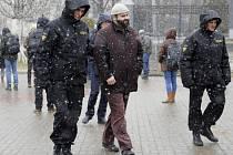 Minsk se připravuje na demonstraci.