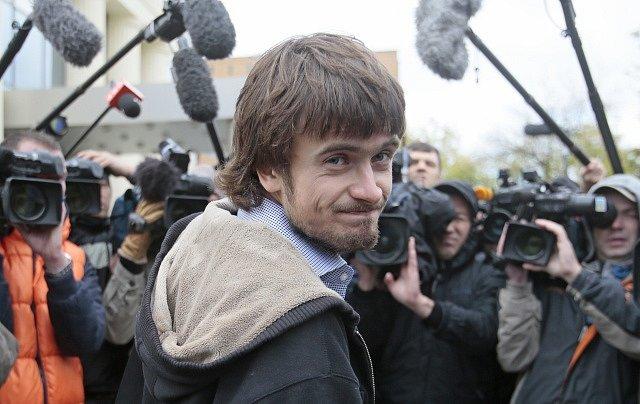 Pjotr Verzilov v roce 2012