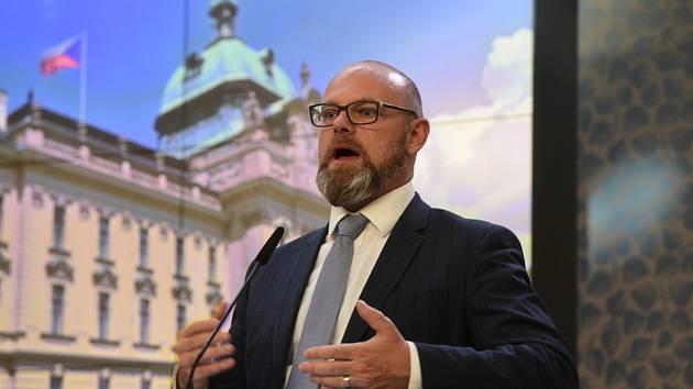 Ministr školství Robert Plaga (na snímku z 13. července 2020)