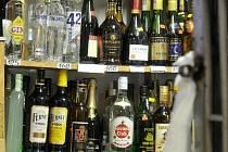 Prodej alkoholu - ilustrační foto