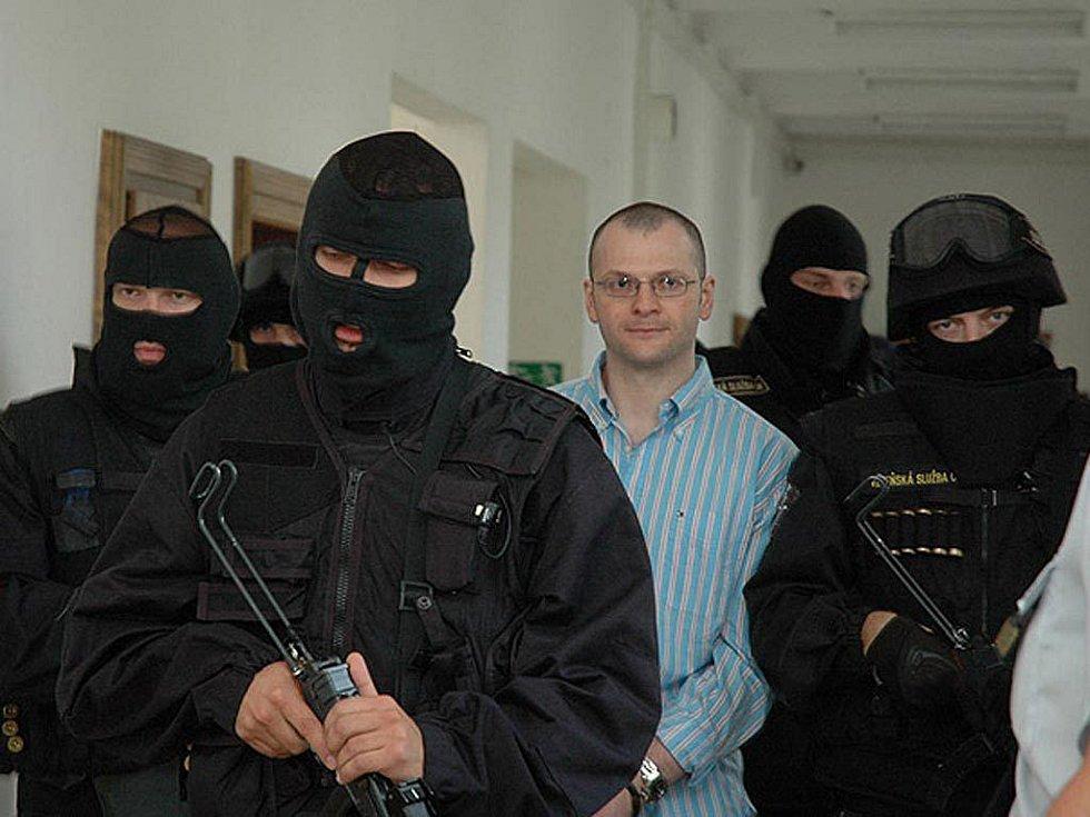 Odsouzený člen takzvaného Berdychova gangu Tomáš Půta.