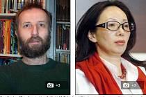 Tony Hawken a jeho 51letá čínská žena Xiu Li.