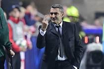 Trenér Barcelony Ernesto Valverde.