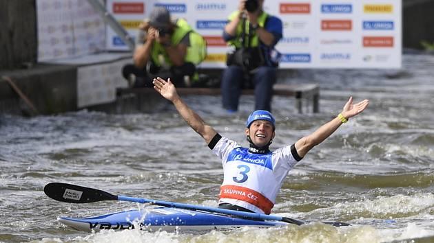 Jiří Prskavec vyhrál v Praze Světový pohár.