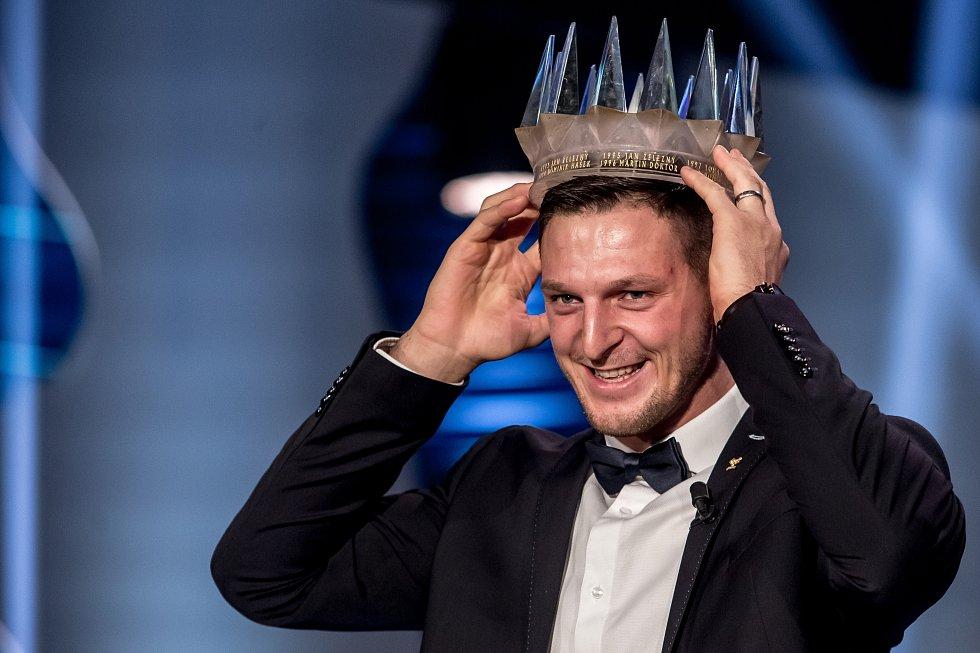 Absolutní vítěz ankety Sportovec roku 2016 Lukáš Krpálek.