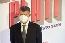 Premiér a předseda hnutí ANO Andrej Babiš
