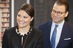 Švédská korunní princezna Victoria se svým manželem