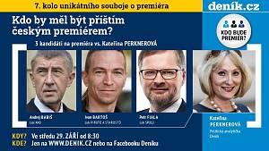 Předvolební premiérská debata Deníku – 29. září 2021