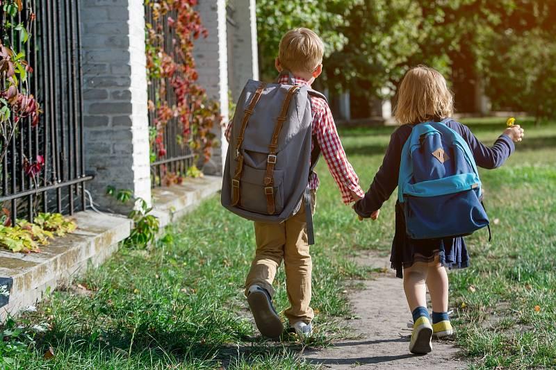 Děti ve školce. Ilustrační snímek
