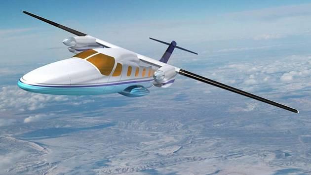 Studie nového letounu Evektor EV-55.