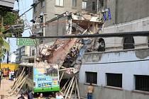 Silné zemětřesení v Mexiku.