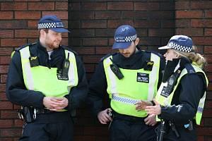 Britská policie. Ilustrační foto.