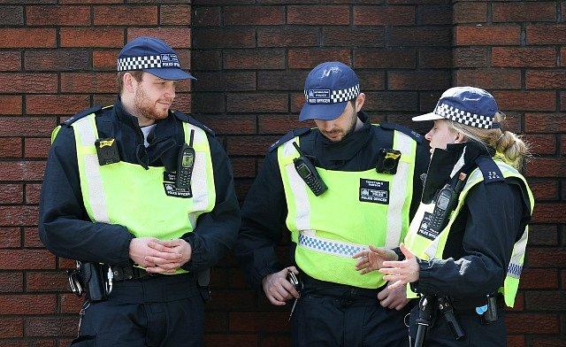 Britská policie. Ilustrační foto