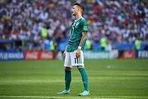 Smutný den prožili Němci, kteří se jako obhájci titulu světových šampionů loučí s letošním turnajem.