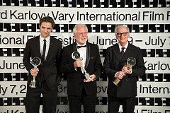 Robert Pattinson, Jaromír Hanzlík a Barry Levinson