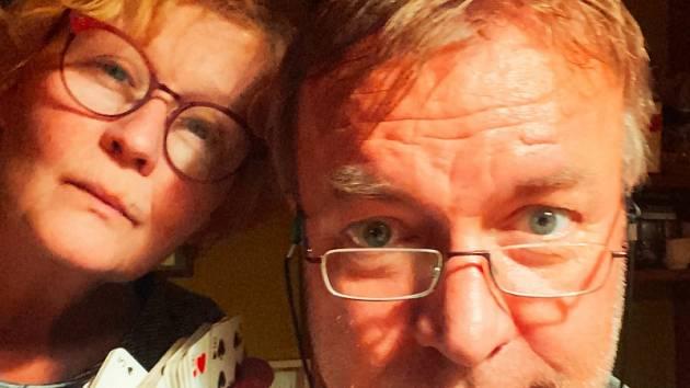 Lucie Juřičková a Martin Zahálkova